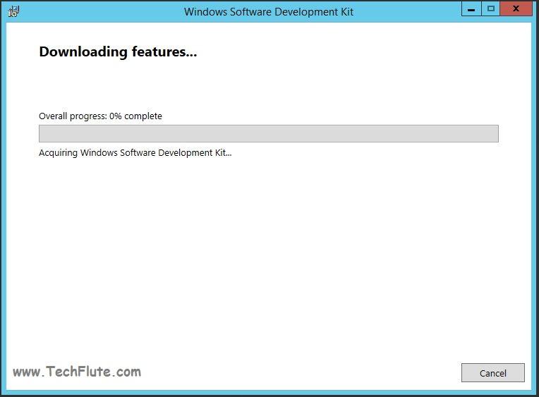 Windows SDK 8 Installation