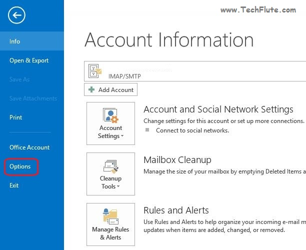 How to fix Outlook Hang Issue on Synchronize Folders - TechFlute