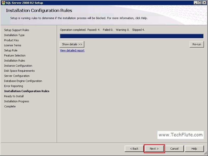 SQL 2008 Installation
