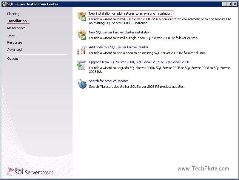 Install SQL 2008