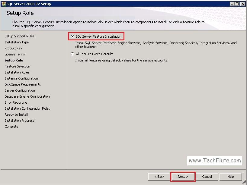 SQL Server 2008 Installation
