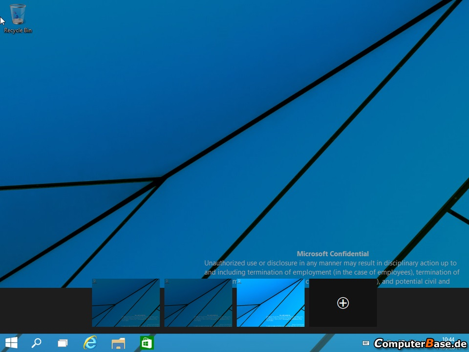 Windows 9 Desktops