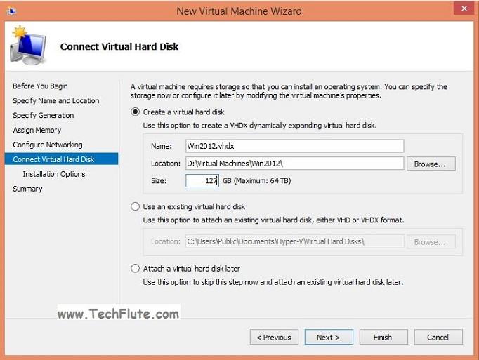 Hyper-V Installation in Windows 8