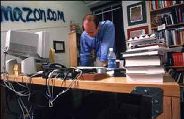 Jeff Bezos Desk