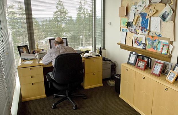 Steve Ballmer Desk