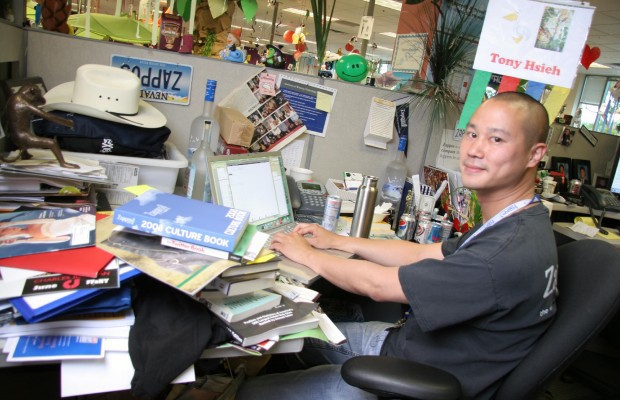 Tony Hsieh Desk