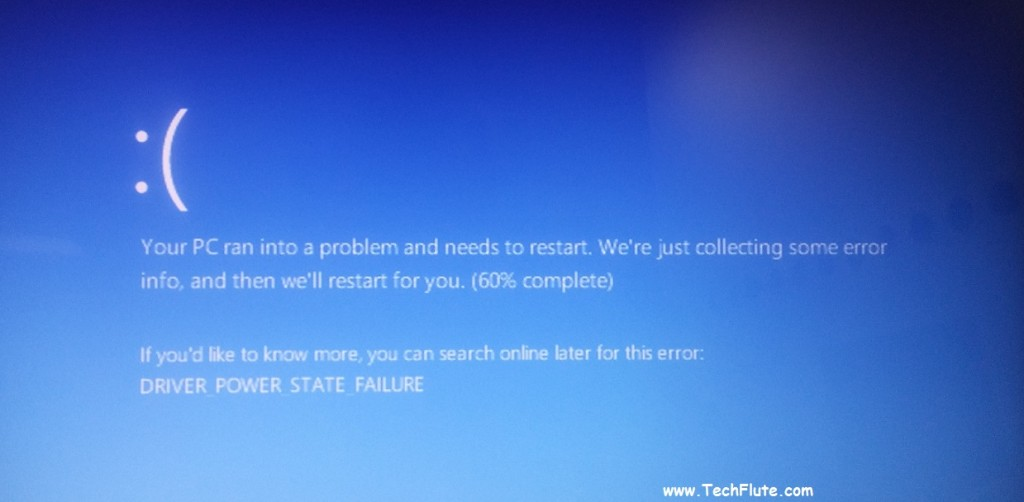 Driver Power State Failure'