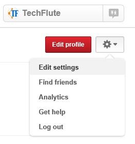Pinterest Business Account Settings