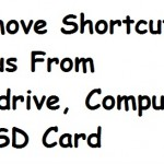 Remove Shortcut Virus From USB